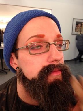 Wool Crepe Beard