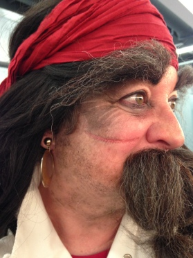 Side View Pirate