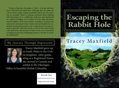 Escaping the Rabbit Hole by Tracey Maxfield